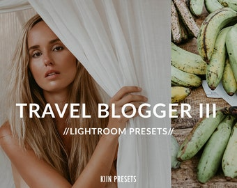 TRAVEL BLOGGER faded greens bali Lightroom PRESETS set