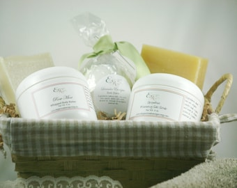 Smooth Skin Pamper Gift, Mothers Day Gift Set, Gift Basket