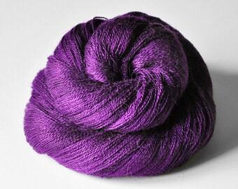 Poisoned by love - Baby Alpaca / Silk yarn lace weight