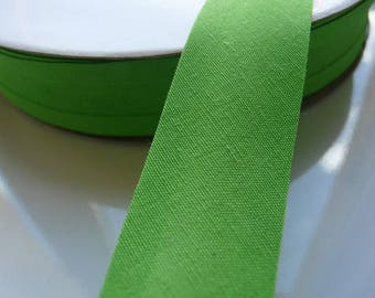 Bias, through Green Apple 20 mm by the yard
