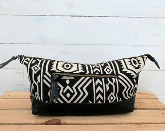Vegan Black Jazz Washbag