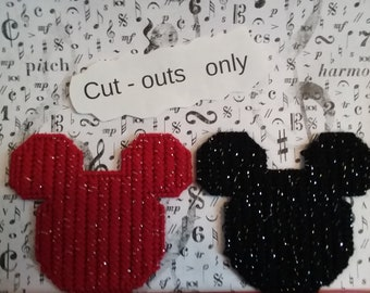 Mickey head cut out