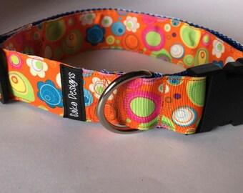 Dog collar / flower pet collar