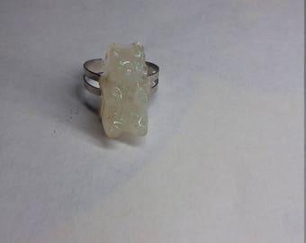 Iridescent Gummy Bear Ring