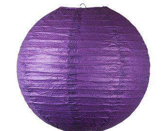 10 inch/25cm Purple Paper Lantern for Weddings, Engagements, Parties, Celebrations etc