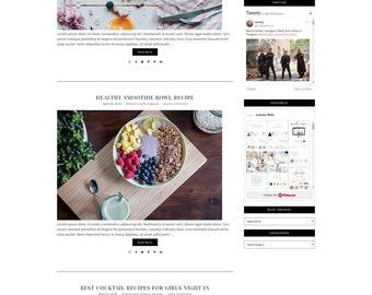 Responsive Wordpress Theme Designer - Genesis Child Theme - Wordpress Template - Wordpress Blog - Blog Design - Fashion