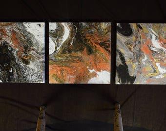 Acrylic Grouping, Abstract Art, Abstract Painting, Acrylic Painting, Original Art, Original Painting