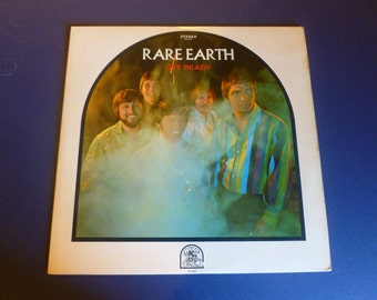 Rare Earth Get Ready Vinyl Record RS 507 Stereo Motown Records 1969