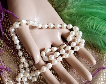 Fantastic Strand of Baurque Pearls