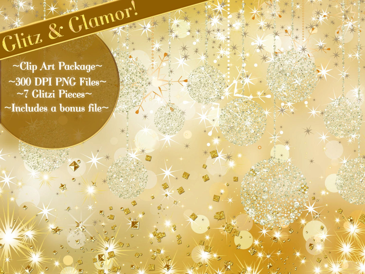 Clip Art Glitter Glamour Clipart Starry Clipart Holiday