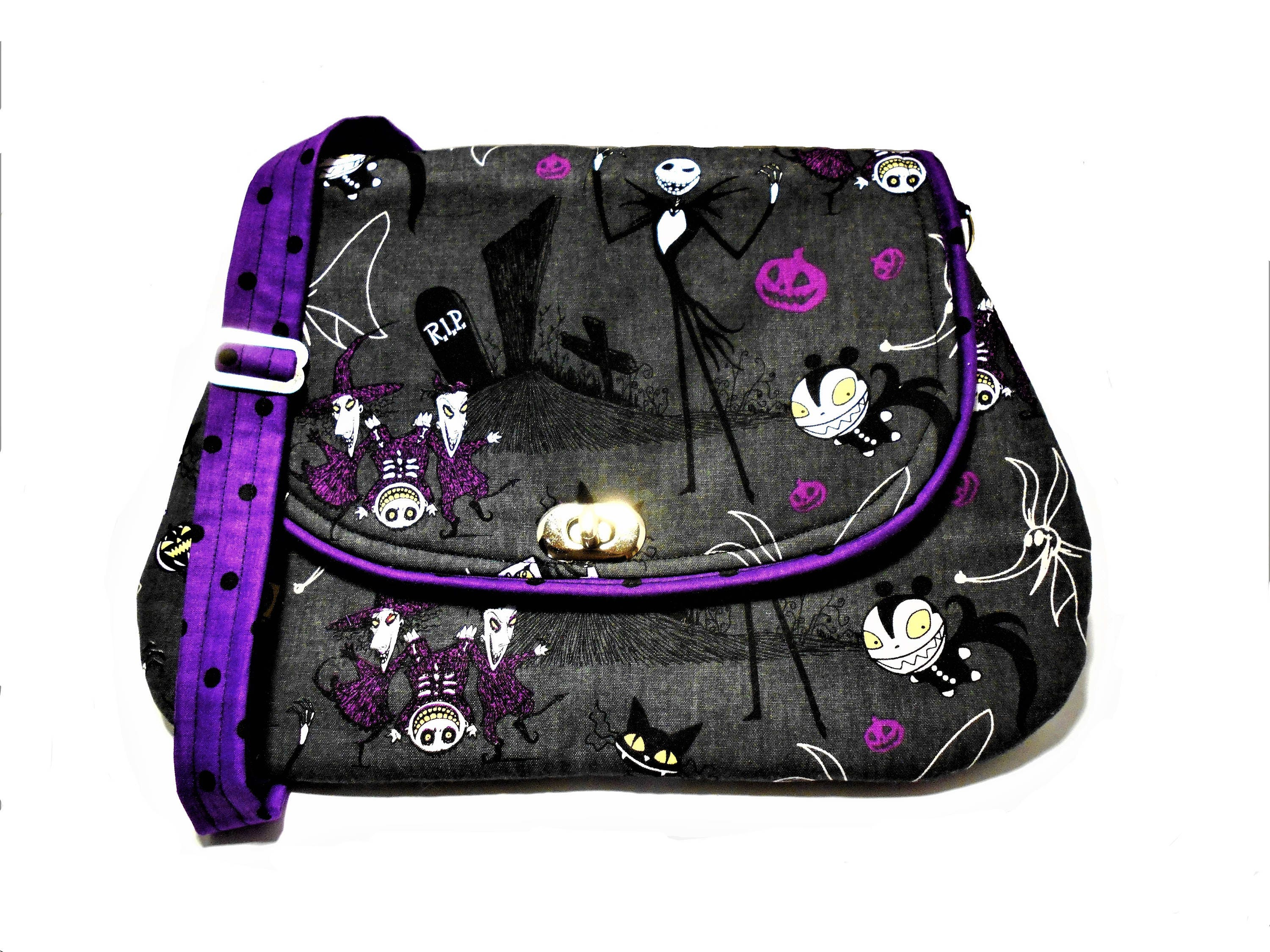 The Nightmare Before Christmas Crossbody Messenger purse