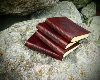 leather journal, A6 travel journal, Lord of the Rings, Elven book, Gondor book, Rohan book, Moria book