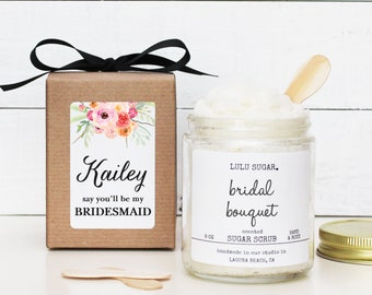 Bridesmaid Proposal Gift | Will you be my Maid of Honor Gift | Bridesmaid Thank You Gift | Maid of Honor Thank You Gift| Bridesmaid Gift Box