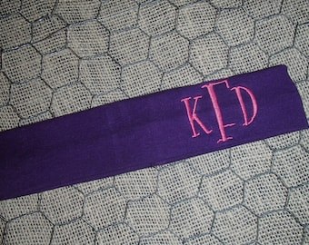 Personalized, Monogrammed Athletic Headband