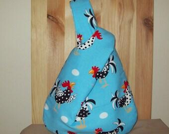 Doodle -doo rooster wristlet purse