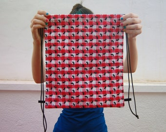 LAST ONE - Picnic with ants drawstring backpack