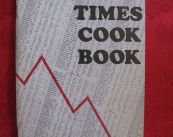 Vintage 1970 Hard Times Cook Book