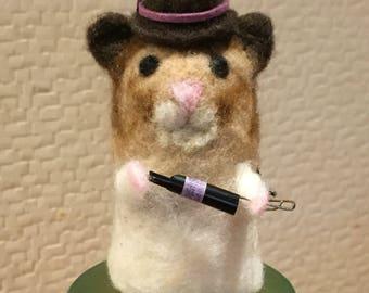 Hamster Wool Key Case