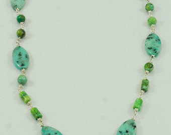 Phyrus /mix beads Necklace J106W
