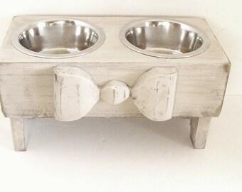 cat feeders il century elevated mid pet feeder modern dog bowls raised listing custom