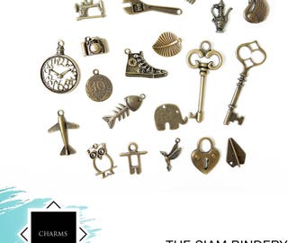 SALE: Charm set B - 20 charms