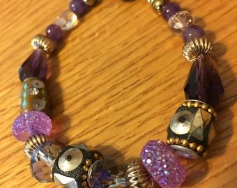 Purple Jesse James Beads