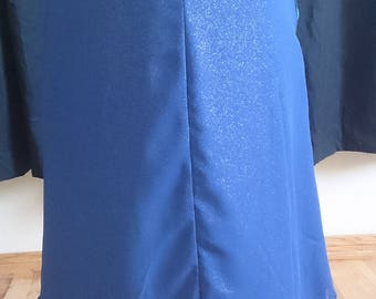 Blue 3-layered skirt (size 12, 20)