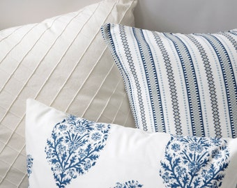Pondichery Collection // 18x18 Pillow Cover +10 More Sizes // Throw Pillow Cover 18x18