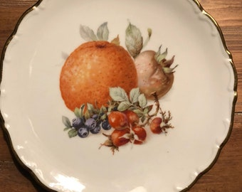 Vintage 1940's Schumann fruit plate from Arzberg Germany