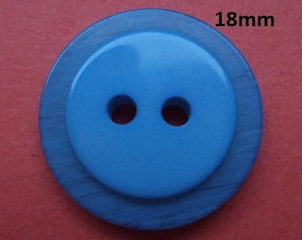 11 Buttons Blue 18 mm (725) button