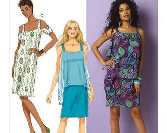 Dress by B6048 Butterick sewing pattern