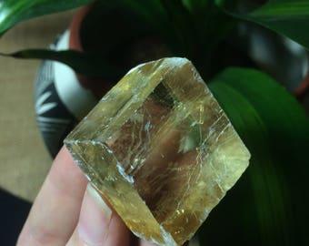 Yellow Optical Calcite (38g)