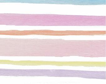 Girls Crib Bedding Blush Watercolor Nursery Changing Pad Covers /Bohemian Nursery Baby Bedding /Mini Crib Sheets Pink / Girls Cot Sheets
