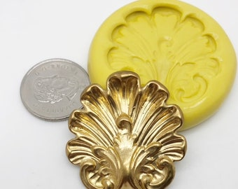 Large Shell Motif Mold Silicone