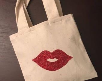 Mini Lip Tote Bag
