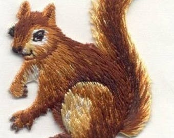 SQUIRREL iron on patch