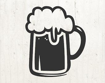 Cinco De Mayo SVG, Beer mug SVG, beer svg, beer glass svg, drink svg, beer clip art | svg png eps jpg dfx | Cricut or silhouette