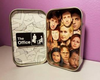 The Office Altoid Box // Michael Scott // Jim Halpert // Pam Beesly // Dwight Schrute