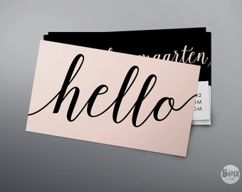 Calligraphy business etsy
