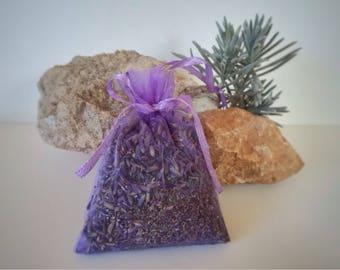 Natural lavender bags light move