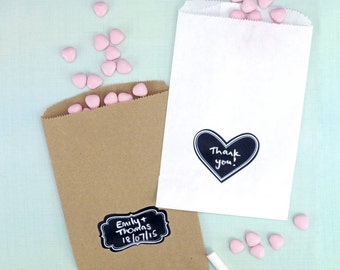 Chalkboard Labels Party Accessory for Wedding Favours, Children's Party Bags and Gifts
