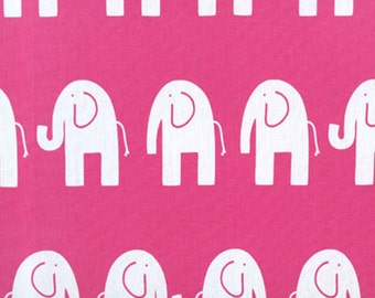 Premier Prints - Ele Canvas Fabric - Candy Pink - Sold by the 1/2 Yard