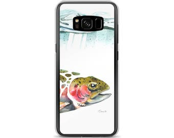 Rainbow Trout #1 - Samsung Cases (Fish Head Style)