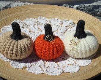 fall decor pumpkins Thanksgiving pumpkins table centerpieces pumpkins harvest decor Halloween pumpkins fairy garden crochet pumpkins hygge
