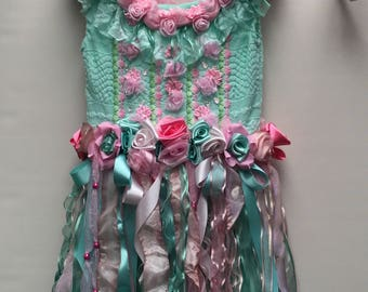Mint and pink fairy