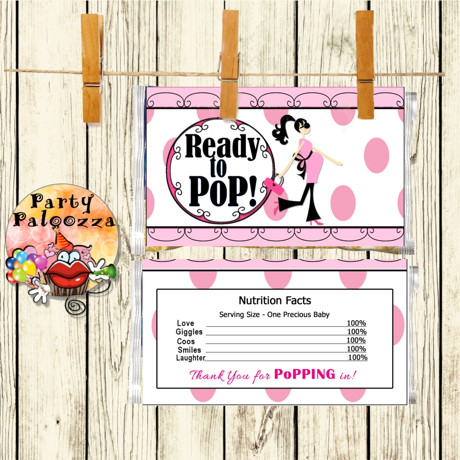 Popcorn wrapper template free gallery templates design ideas baby shower popcorn labels gallery baby showers decoration ideas baby shower candy wrappers templates free images pronofoot35fo Choice Image