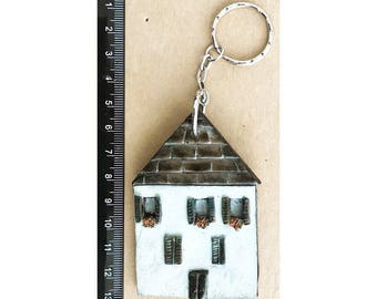 Keychain Vintage Country House