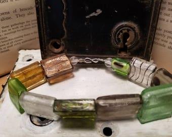 Square Glass Bracelet