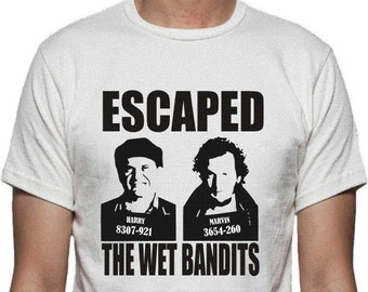 The Wet Bandits T-shirt - Home Alone, Christmas Film, All Sizes/Colours