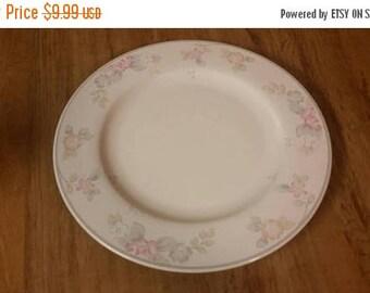 On Sale Pfaltzgraff 10 inch Dinner/Chop Plate Wyndham Pattern Replacement Dish with Pink & Pfaltzgraff wyndham | Etsy